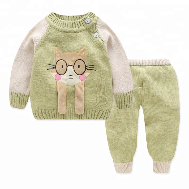 0ed3816b2a1d Baby Boy Sweater Romper Knitted Sweater Sets Pullover Sweater - Buy ...