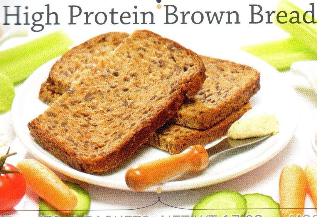 Balanced Protein Diet High Protein Brown Bread