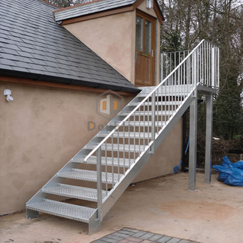Beau Outdoor Industrial Metal Stairs Cast Iron Staircase