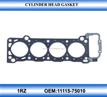 Graphite head gasket 1RZ 11115-75010 cylinder head gasket motor engine parts