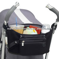 Neoprene Stroller Organizer with Cup Holder