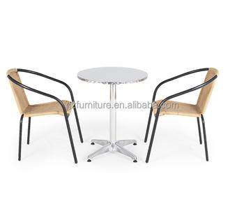 2 Places Bistro Set Table De Jardin Et Chaises - Buy Table Et ...