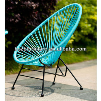 Outdoor Rattan Children Egg Shape Chair/Children Rattan Chair Garden  Furniture