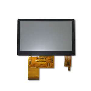 good view angle 4.3'' lcd tft monitor with capacitive touch panel