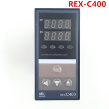 Digital RKC PID Temperature Controller REX-C400 with K thermocouple, Relay Output