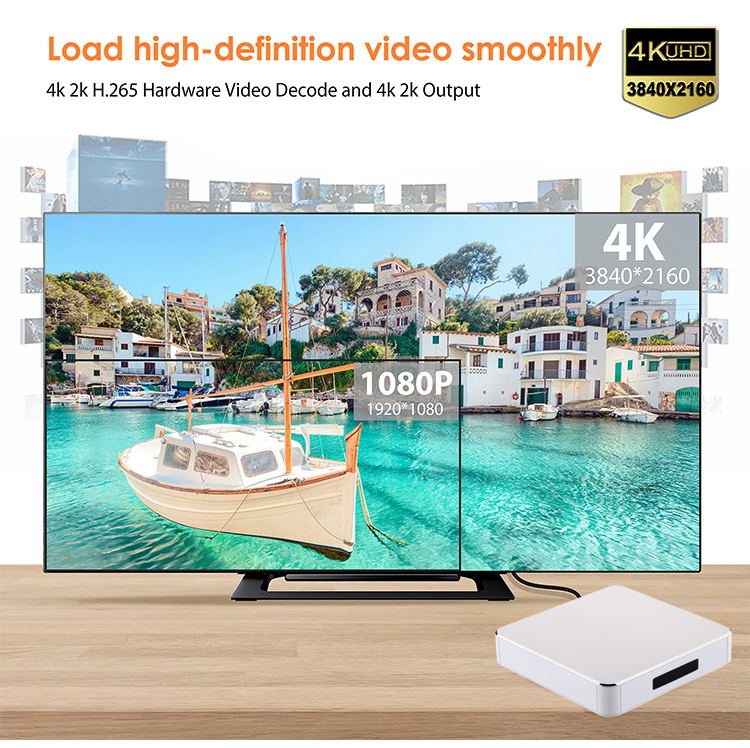 Attractive design imitate metal sell CPU customizable Rockchip 3229/ Amlogic S905W/S905X smart tv box android 7.1 set top box