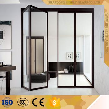 New Aluminum glass concertina folding door & New Aluminum Glass Concertina Folding Door - Buy Glass Door ... pezcame.com