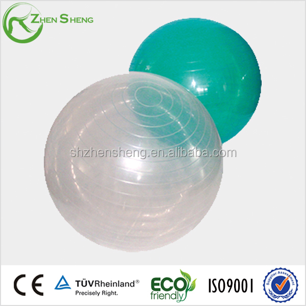 Zhensheng green yoga ball printed