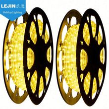New Year yellow black light rope lights With low price indoor decoration