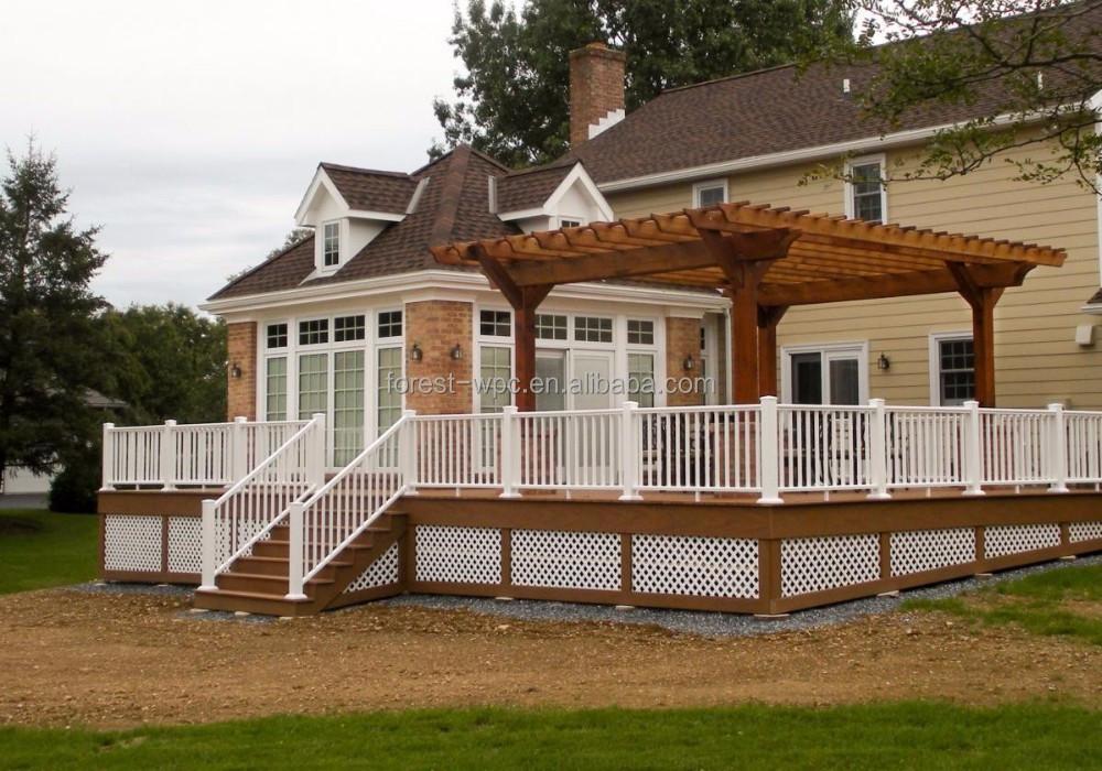 Peque as casas prefabricadas impermeable moderna casas de - Casas troncos de madera ...