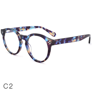 6623c26f9e7 High quality specialized acetate round colorful italiy eyewear optical glasses  frames in stock