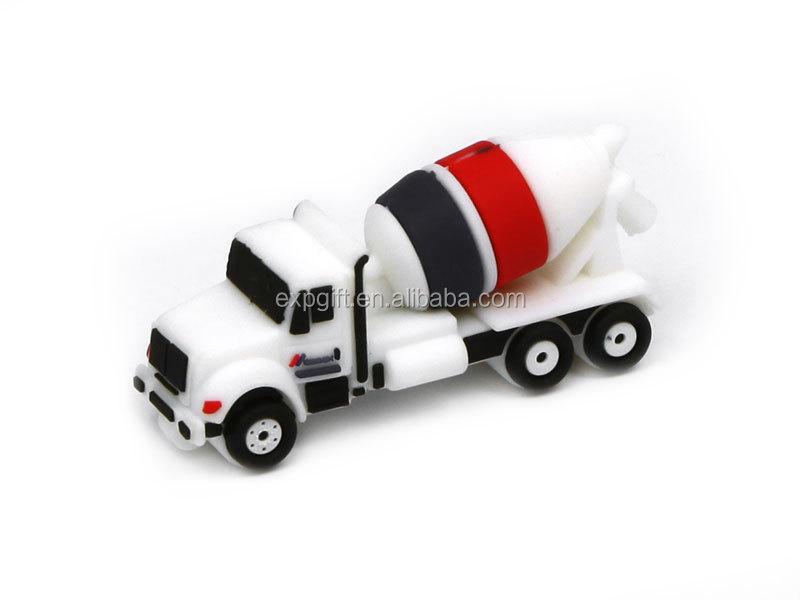 Cement Mixer Truck USB Flash Drive / Concrete Mixer Truck USB Flash Drive / Cement Truck USB Flash Drive