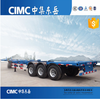 CIMC Direct Factory Skeleton Container Chasis With 3 Axle