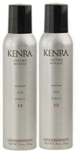 Kenra Volume Mousse 12 (8oz Pack of 2) Medium Hold Styling Fixative