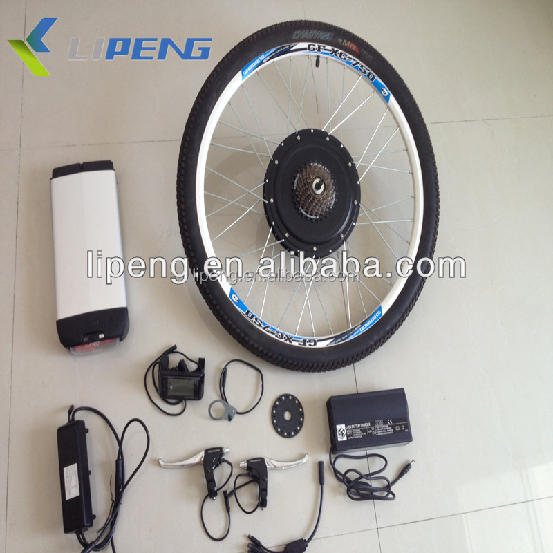 For sale attractile price electric bicycle kit with rear wheel rim 26""