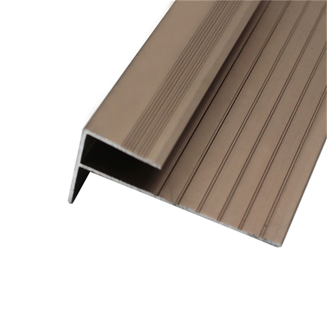 Aluminum Stair Nosing For Vinyl Floor