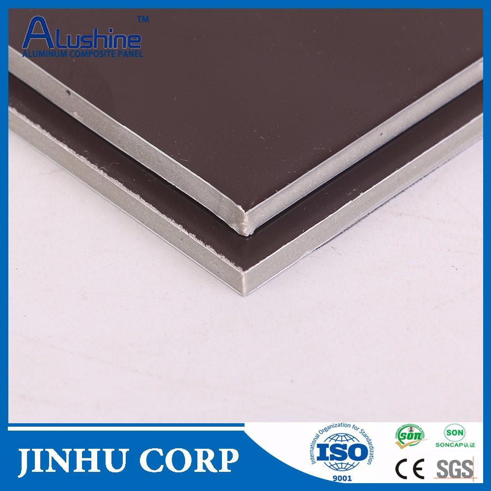 fireproof panel compuesto de aluminioacp para la construccin de fachadas de materiales a prueba