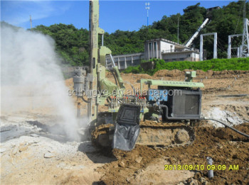 Super Drilling Capability ! Portable Multi-Function Crawler Hydraulic Drilling Machine