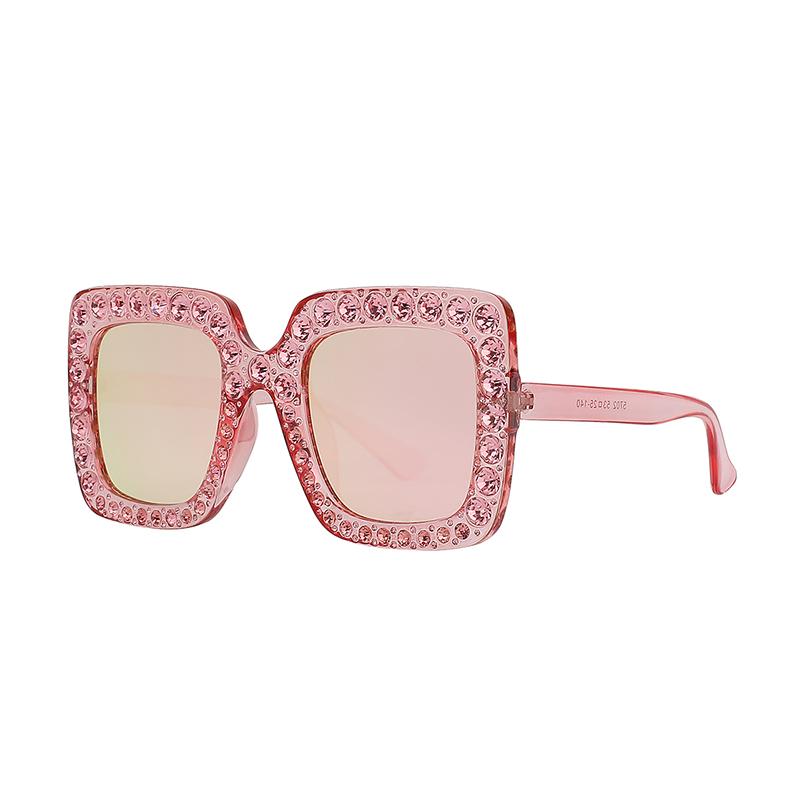 844b020c59b0 2019 Women Fashion Style Square Glasses Bling Designer Sunglasses - Buy  Square Bling Sunglasses