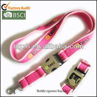 2017 New Design Colorful Custom Logo Printed Polyester Lanyard