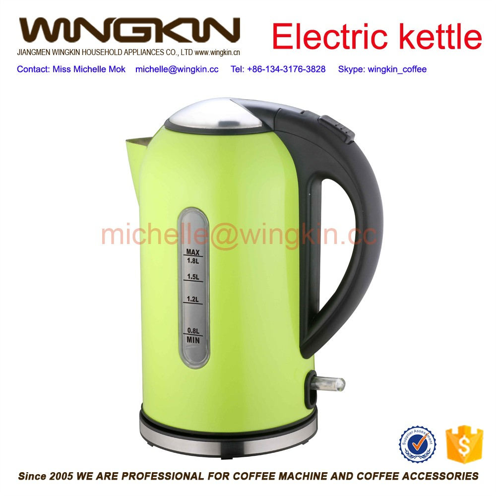 Household promotional 1.8l ss automatic shut-off electrical kettle