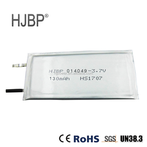 ultra thin lipo battery 3.7v 2500mah for tablet pc and power bank