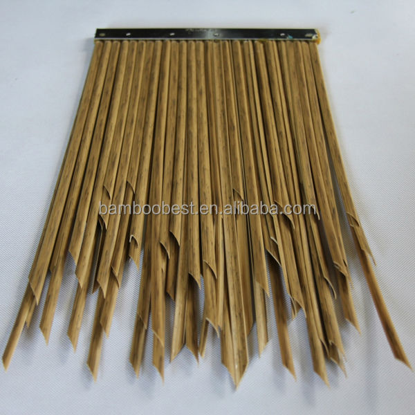 New Style Construction Artificial Straw ,fireproof synthetic thatch