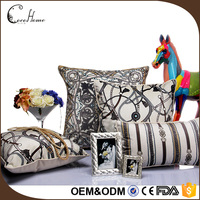 Middle East luxury brand 45*45cm screen photo print velvet turkish cushion covers