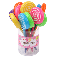 INTERWELL BPL135 Cute Lollipop Design Light Up Pen