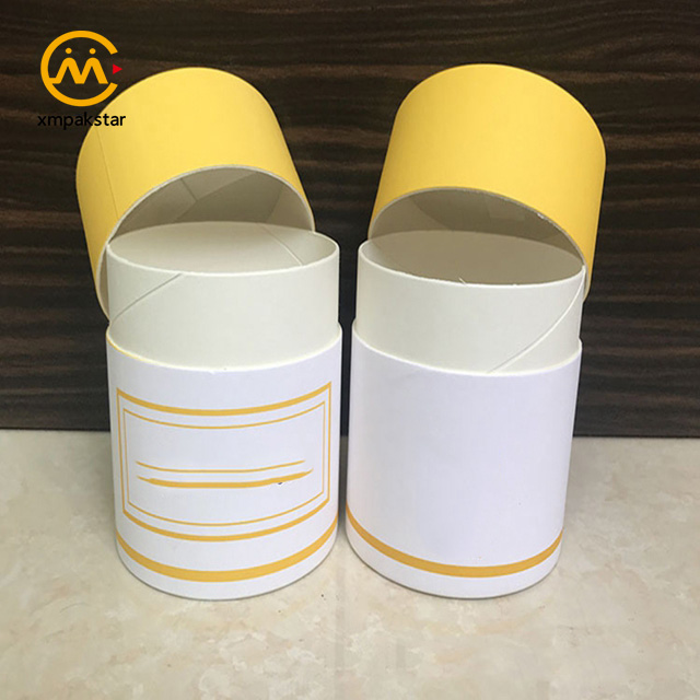 Wholesale custom size cardboard paper tube packaging round cylinder candle box