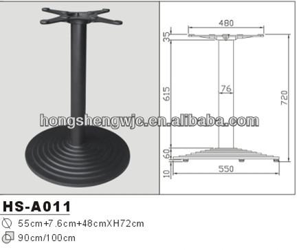 hs a011 tapes base ronde amovible pied de table de la jambe courte table manger pieds de. Black Bedroom Furniture Sets. Home Design Ideas