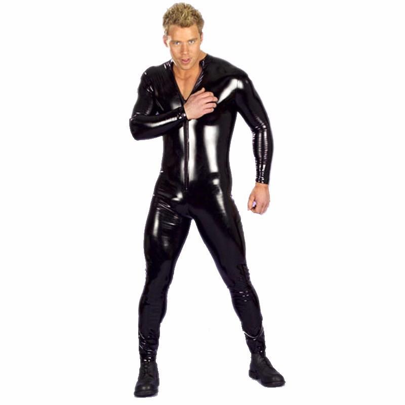 body latex men in