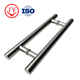High Quality H Shaped Glass Door Handle , Stainless Steel Tube Shower Pull Handle