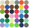 wholesale 3mm/4mm/5mm thick assorted soft non woven fabric 100% polyester felt color felt