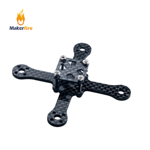 Makerfire FPV Racing Drone uav frame kit 70mm wheelbase Carbon Fiber for RC quadcopter