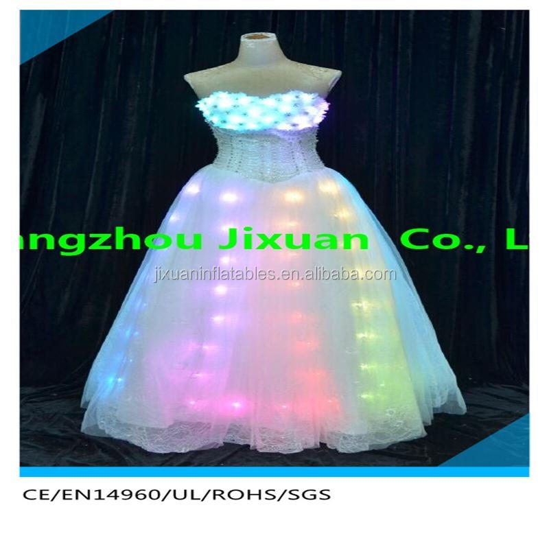 2016 luminous led light up short prom dresses for sale