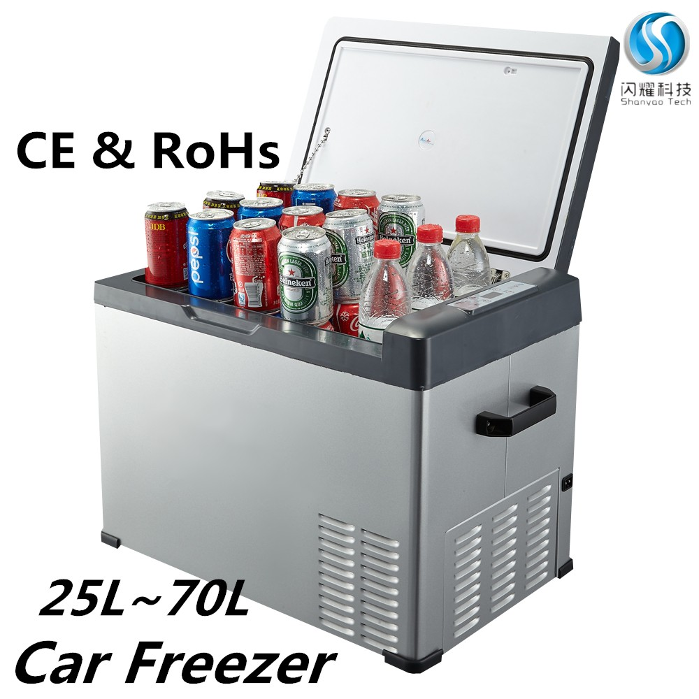wholesale mini <strong>refrigerator</strong> price portable propane freezer CE RoHs 12v 30Litres