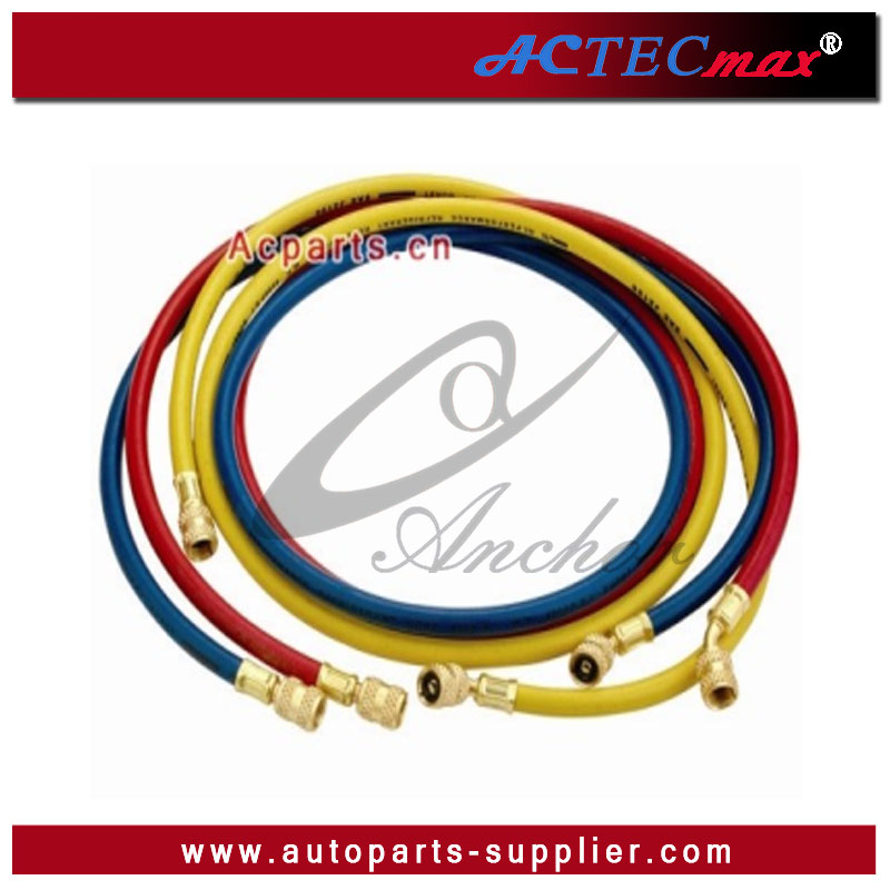 flexible hoses Air Conditioning Hose with anti-blowback valve R134a