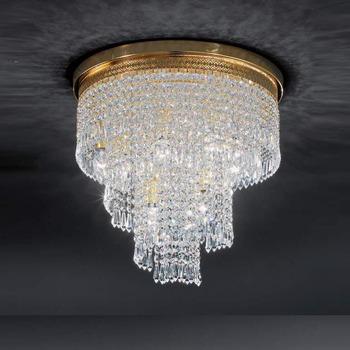 Modern Ceiling Lighting Fixture Crystal