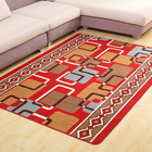 Decorative living room rugs PVC backing floor carpet