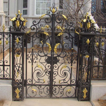 Wrought Iron Gate Design Designs With Galvanize Sheet Gates Models Italian Style Product On