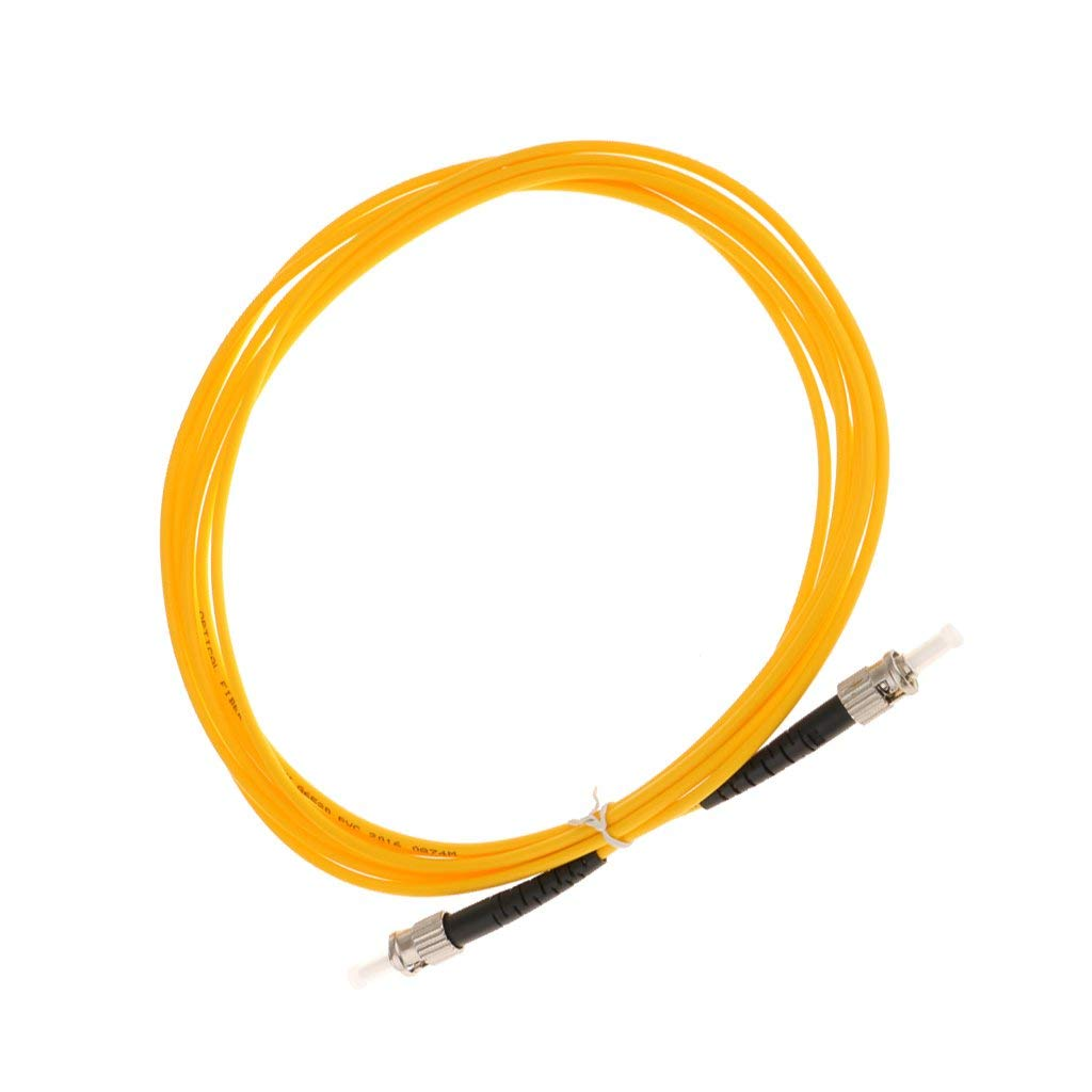 3 Meter SC to SC Singlemode Dual Core Fiber Patch Cable Wire Magideal