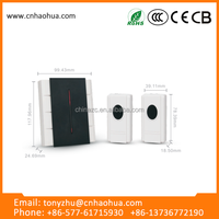 ZTB-86(2V1) 2016 New style long range smart remote control wireless doorbell