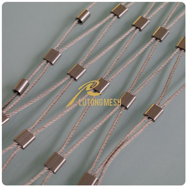 Stainless Steel Wire Rope Zoo Mesh For Protection Or Decoration ...