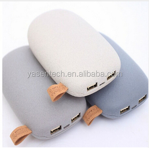 10400mah portable stone power bank with Dual USB Output