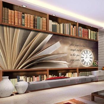 Neue Wandbild Serie Fur Home Hotel Schule Bibliothek Dekoration 3d