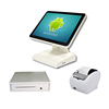 15 inch Android POS system Android retail pos system with cash drawer thermal printer