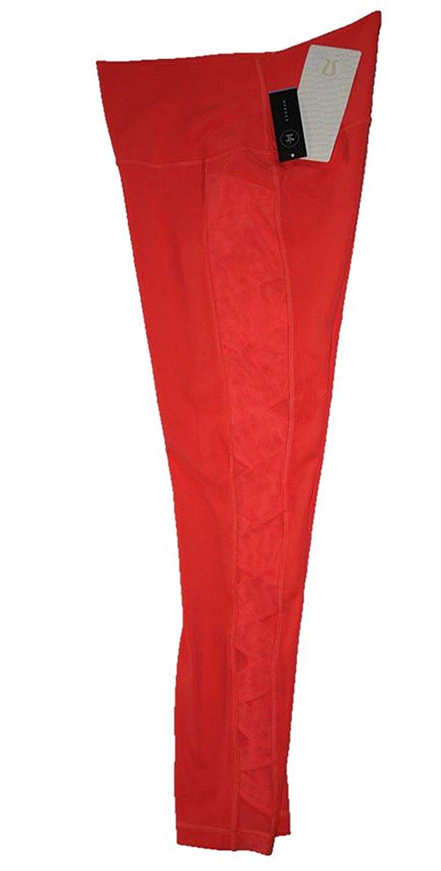 e4265ec4646ff Get Quotations · Lululemon Women's Rise and Flow Pants (Size 8) Cape Orange  Fitted Tights LW5LI1S