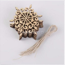 hot selling wood snowflake hangings christmas ornament chirstmas hangings christmas decoration
