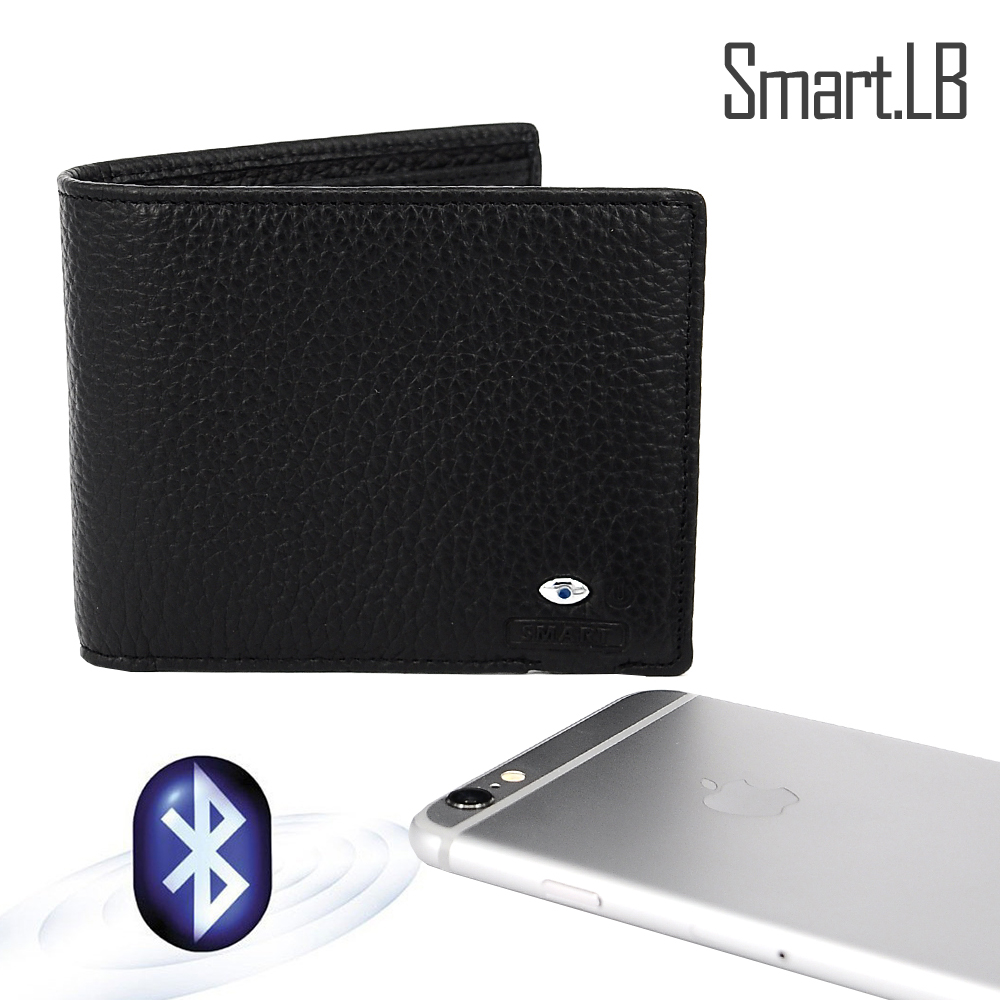 SMARTLB New gadgets 2019 leather smart wallet in Guangzhou factory